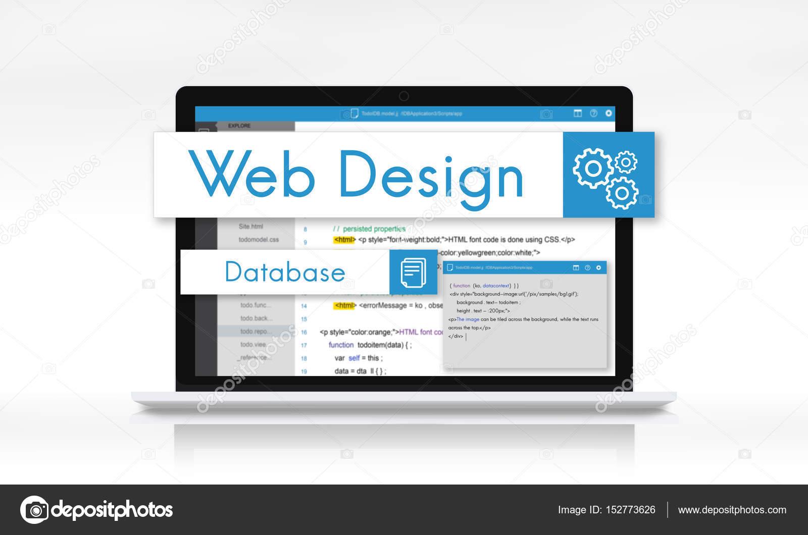 Web Design Vorlage laptop — Stockfoto © Rawpixel #152773626