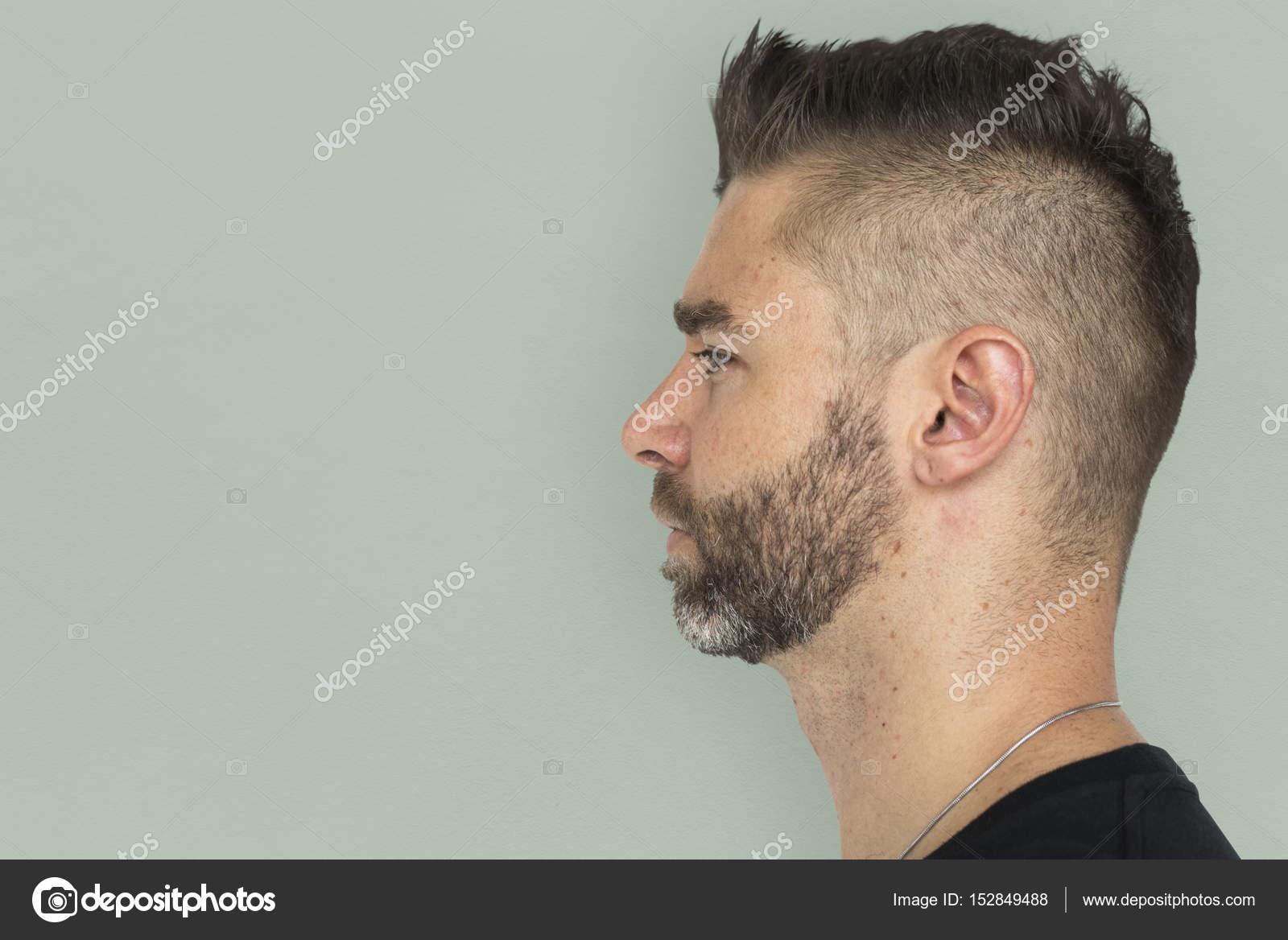 Homme Avec Une Coiffure Elegante Et Barbe Photographie Rawpixel