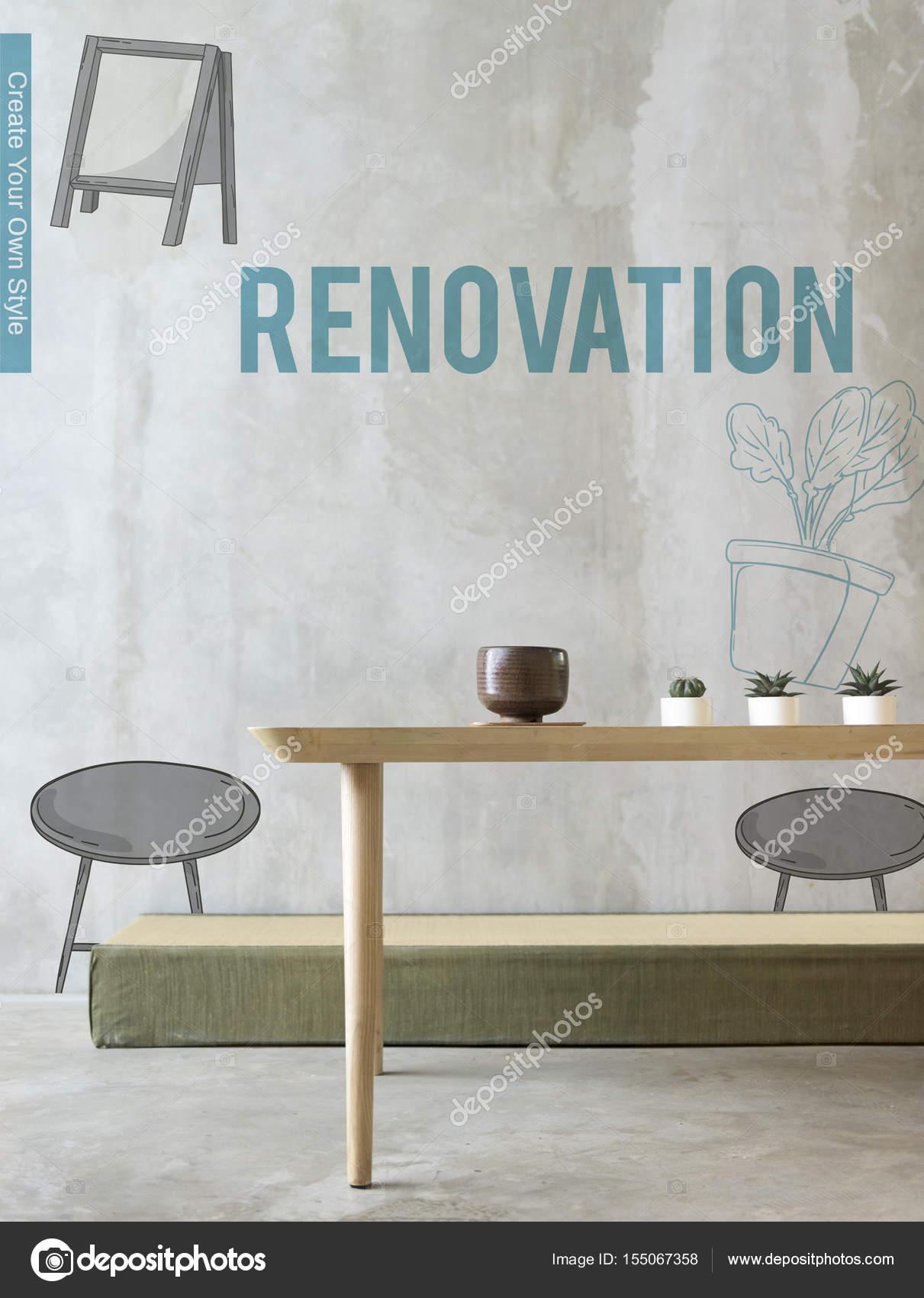 Wohnlandschaft Mit Tisch Stockfoto C Rawpixel 155067358