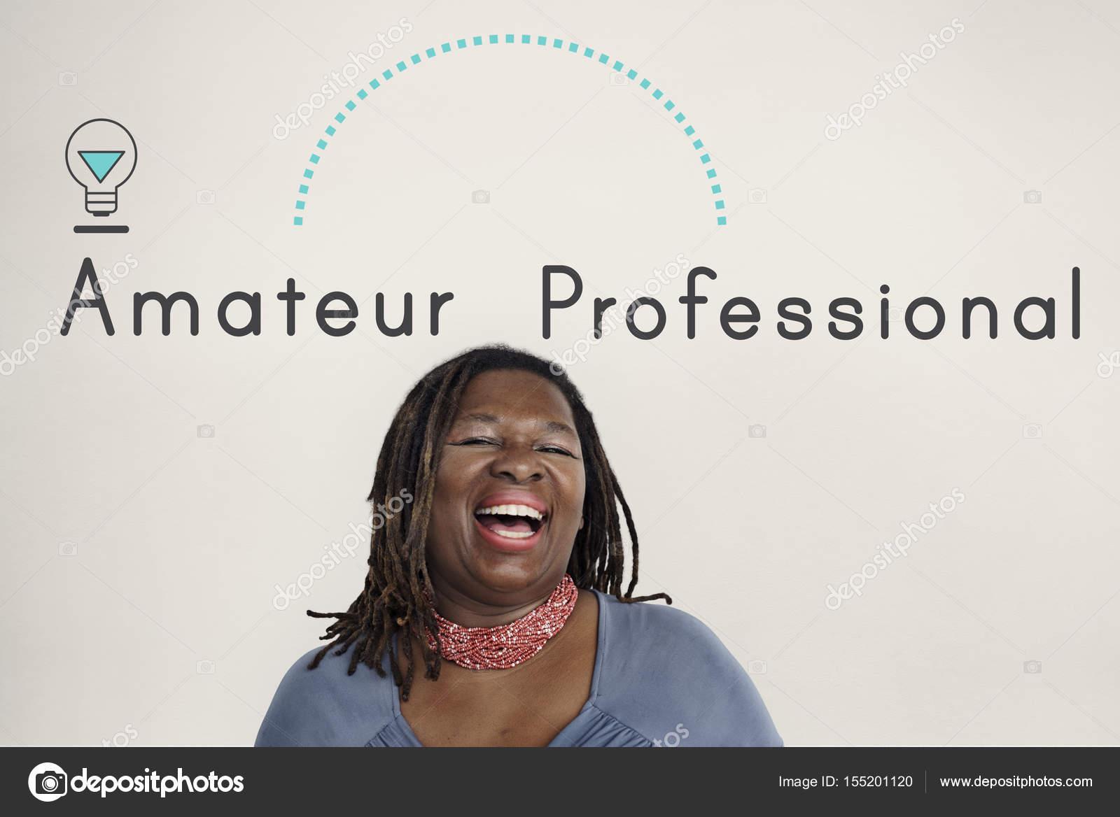 Black mature amateur