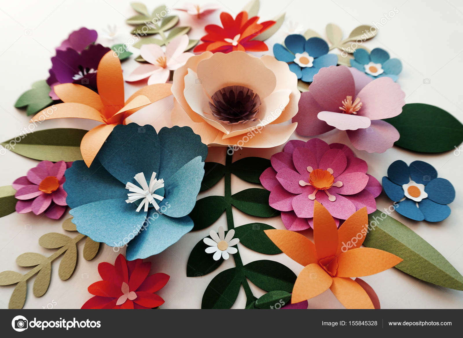 Flowers Papercraft Flowers Healthy