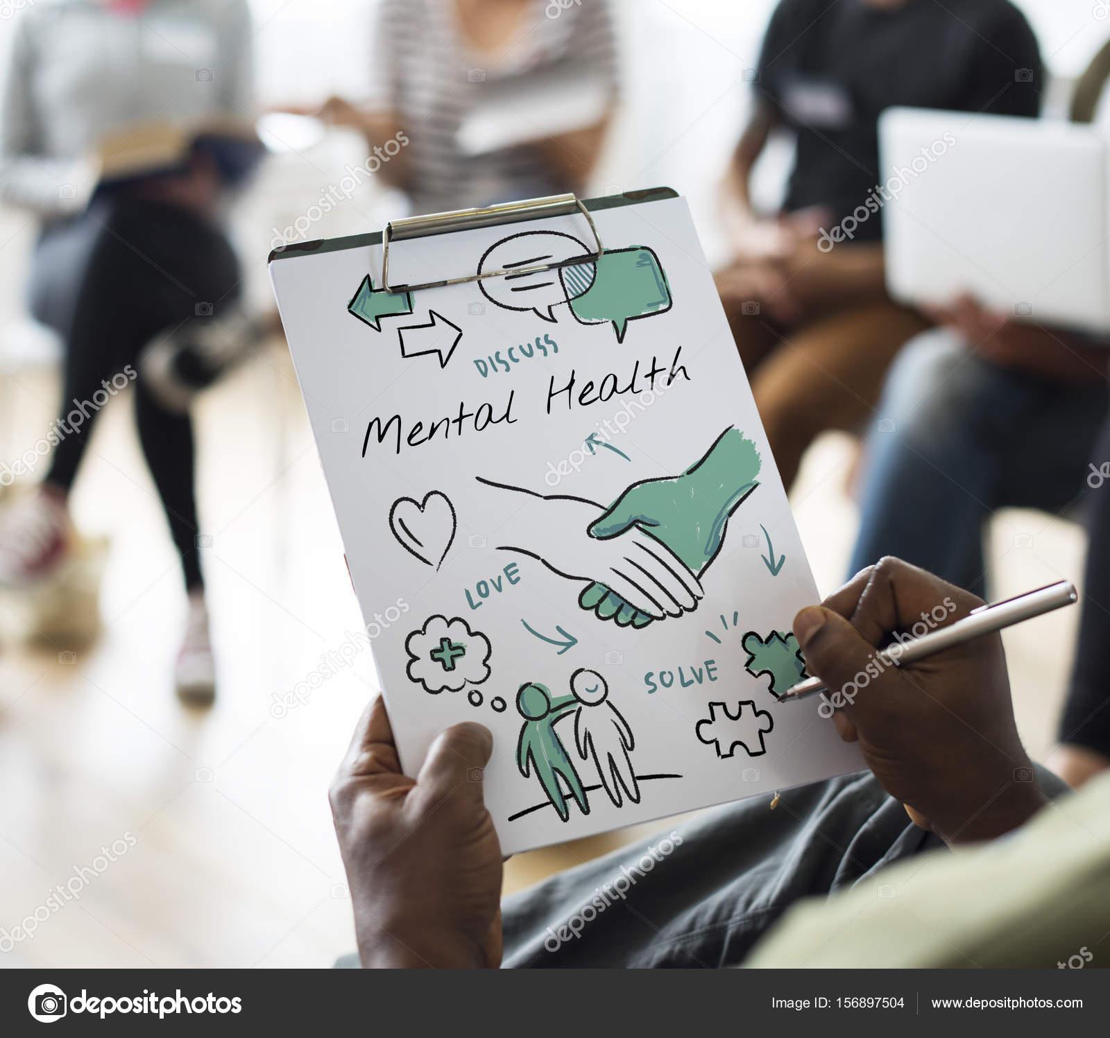 Menschen bei Treffen Präsentation — Stockfoto © Rawpixel #156897504