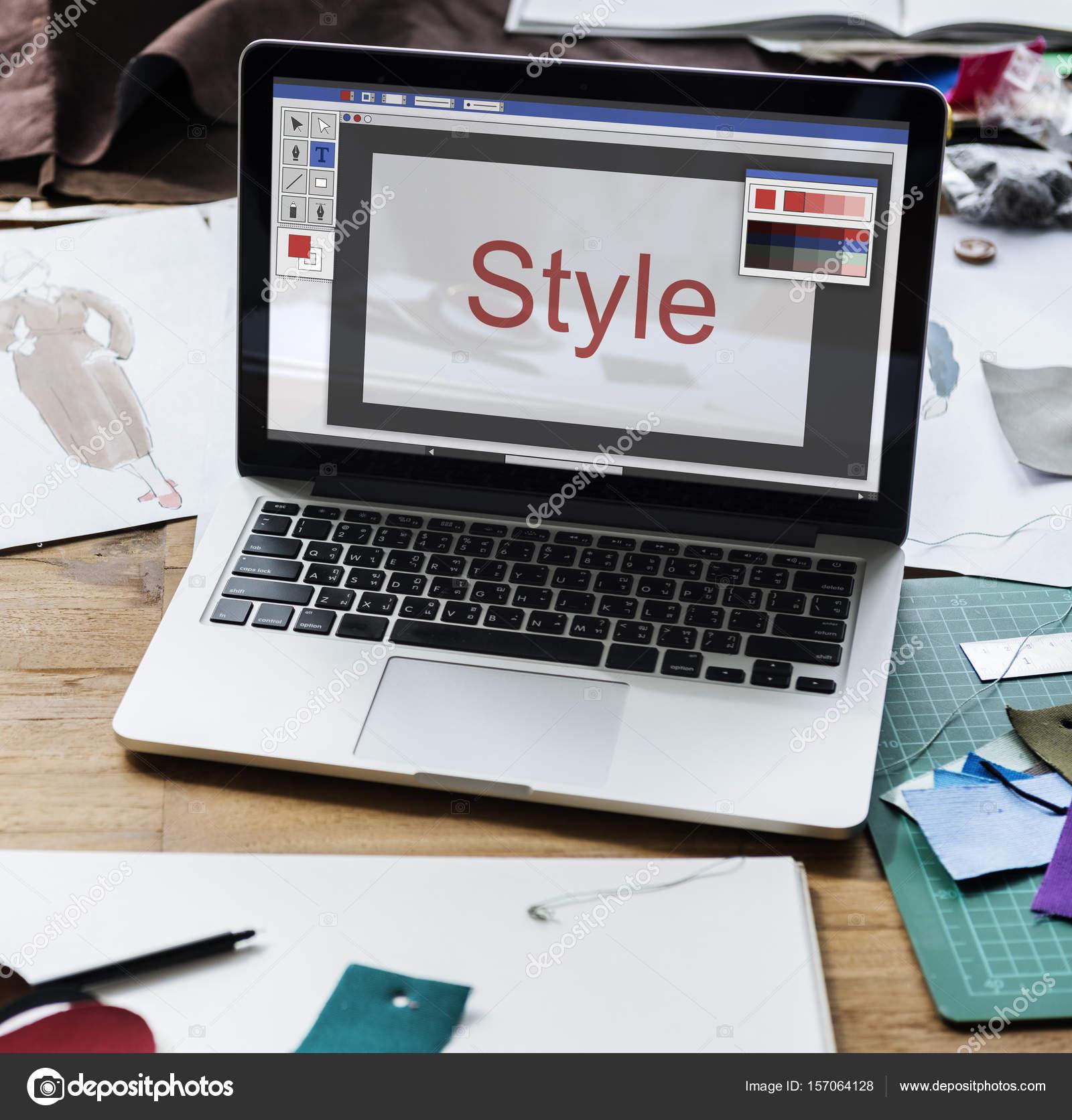 ordinateur portable sur lieu de travail graphique photographie rawpixel 157064128. Black Bedroom Furniture Sets. Home Design Ideas
