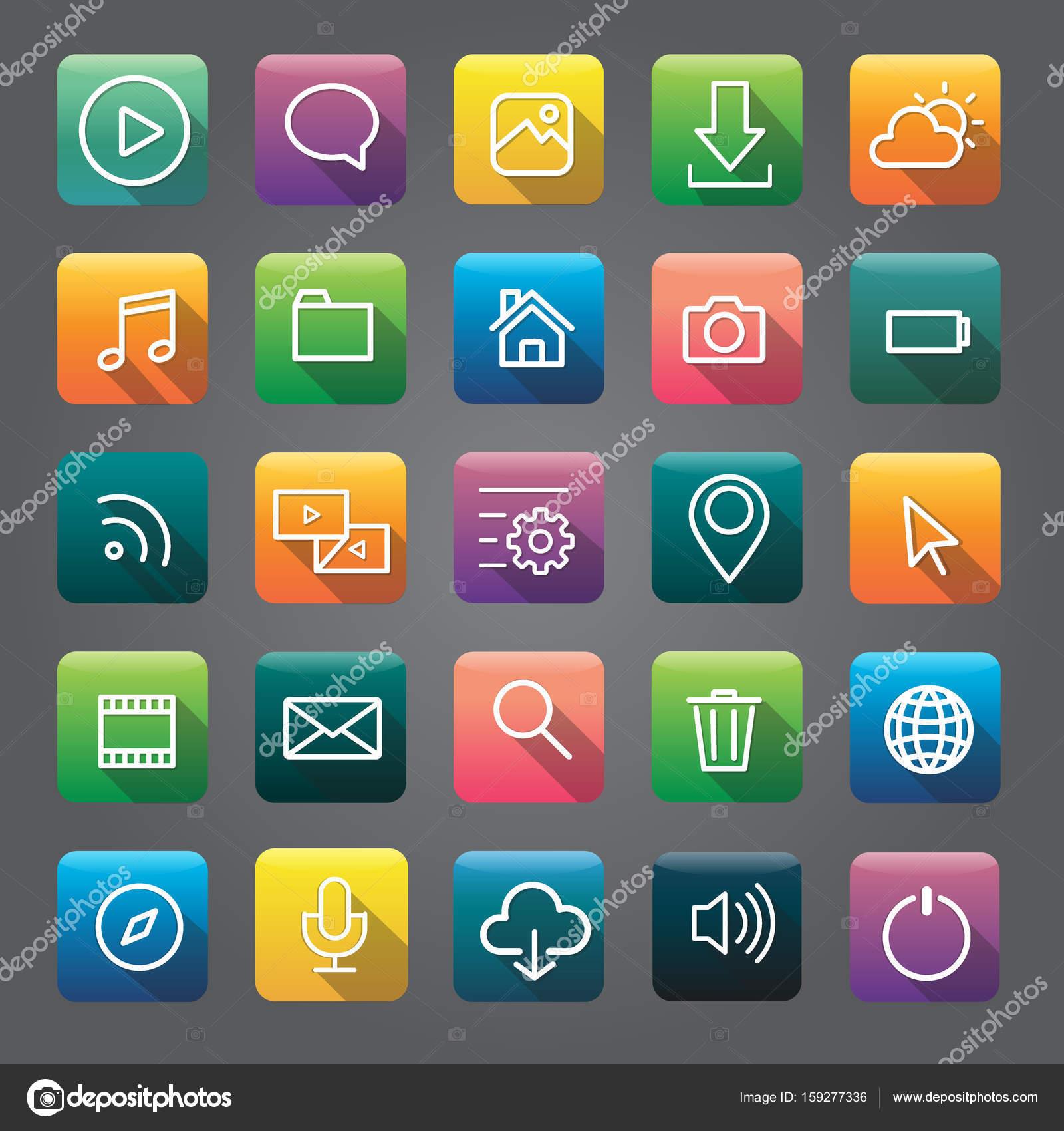 Скачать иконки приложений для телефона программа для тренажерного зала скачать