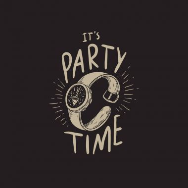 It's Party Timetext and watch