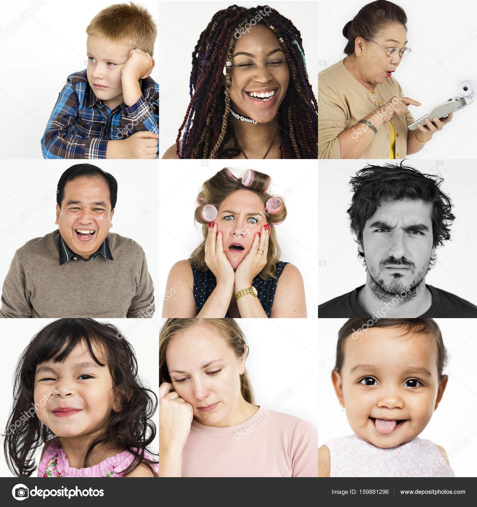Imágenes Personas Con Distintas Emociones Personas Con Diferentes