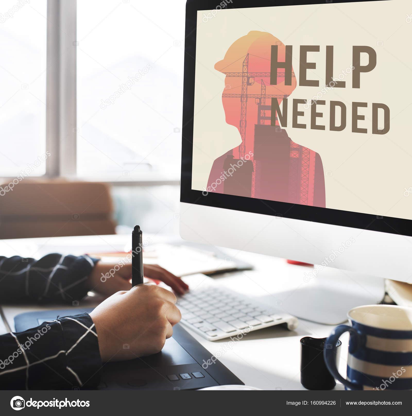 графический дизайнер женщина, работа с компьютером — Стоковое фото ... 6d3f0955175