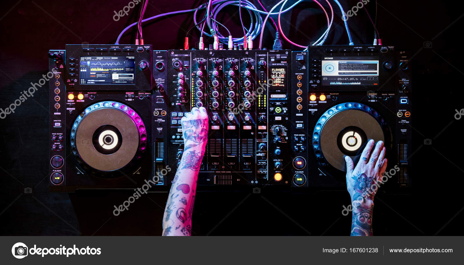 Dj Working On Sound Mixer Station Stock Photo Image By Rawpixel 167601238