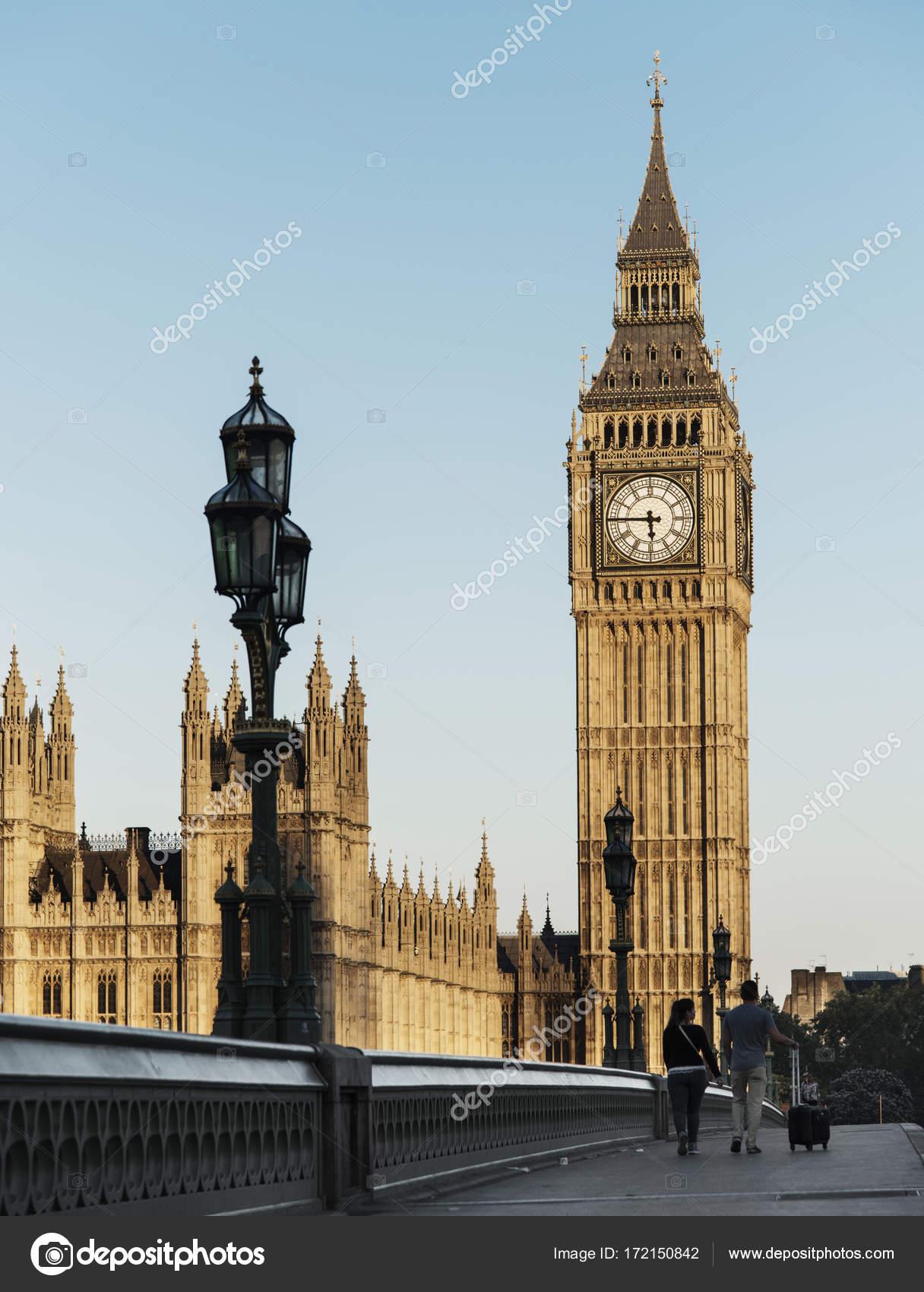 Big Ben House Parliament London Original Phoset Stock Photo