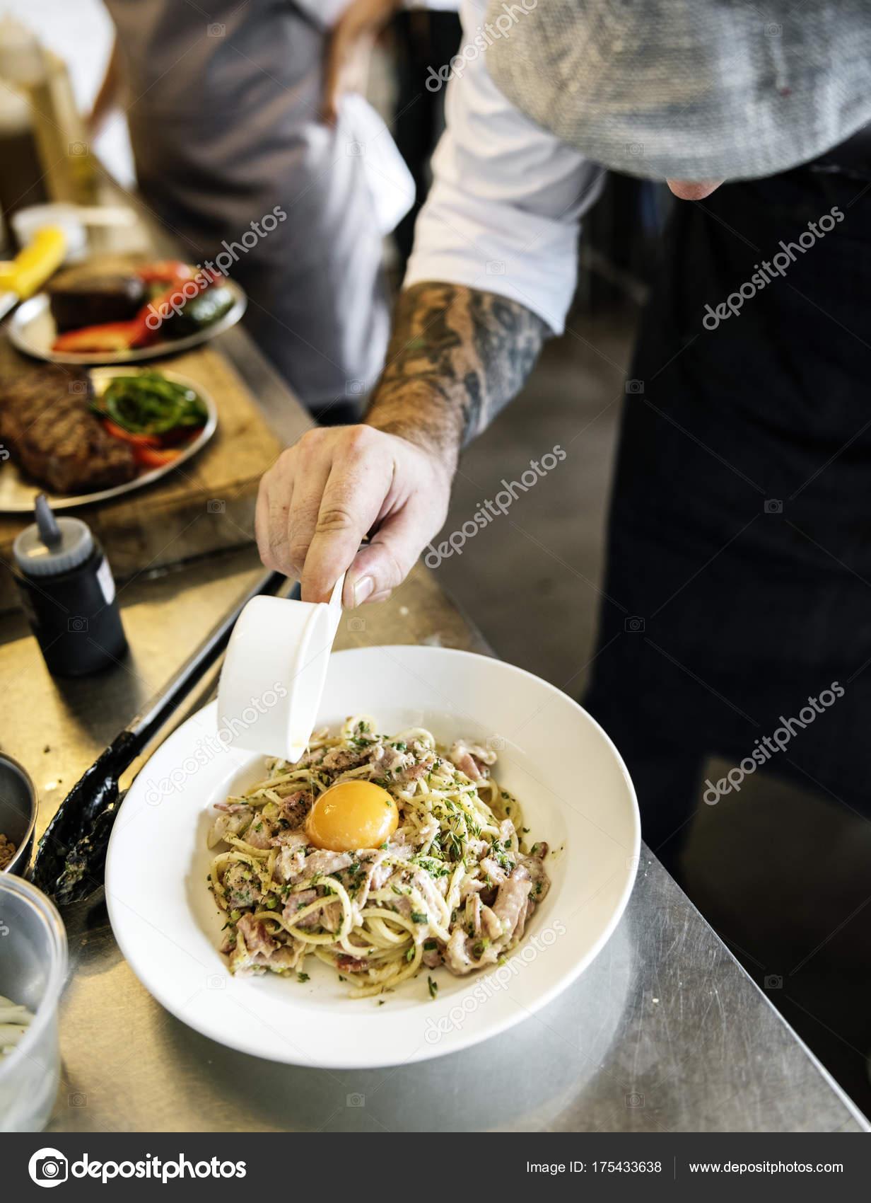 Spaghetti Italienische Küche Original Fotoset — Stockfoto © Rawpixel ...