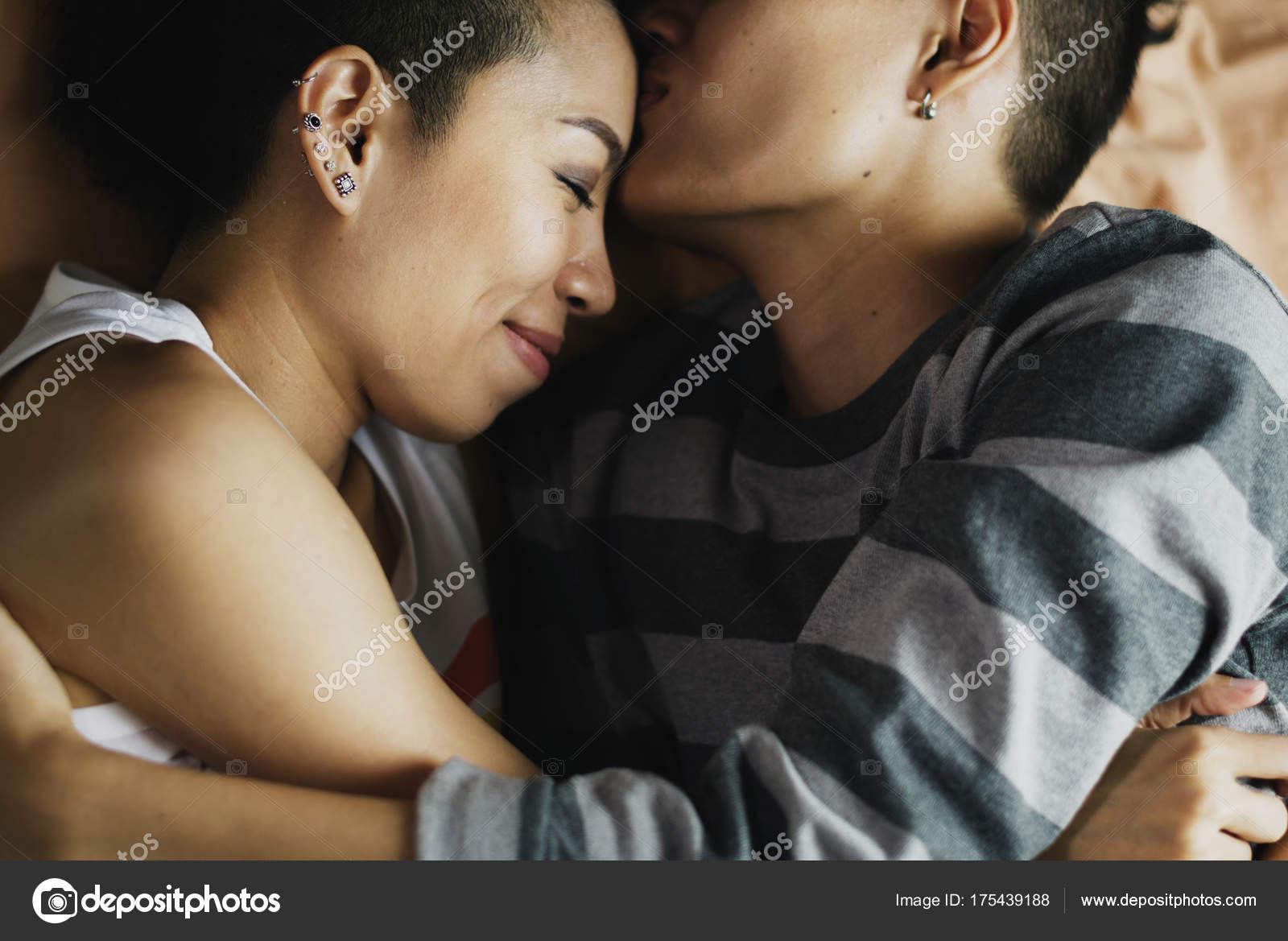 Asian lesbian flash