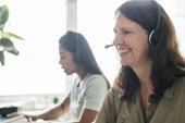 Photo women working in customer service