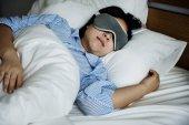 Fotografie A woman sleeping concept