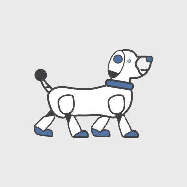 illustration of pattern dog concept