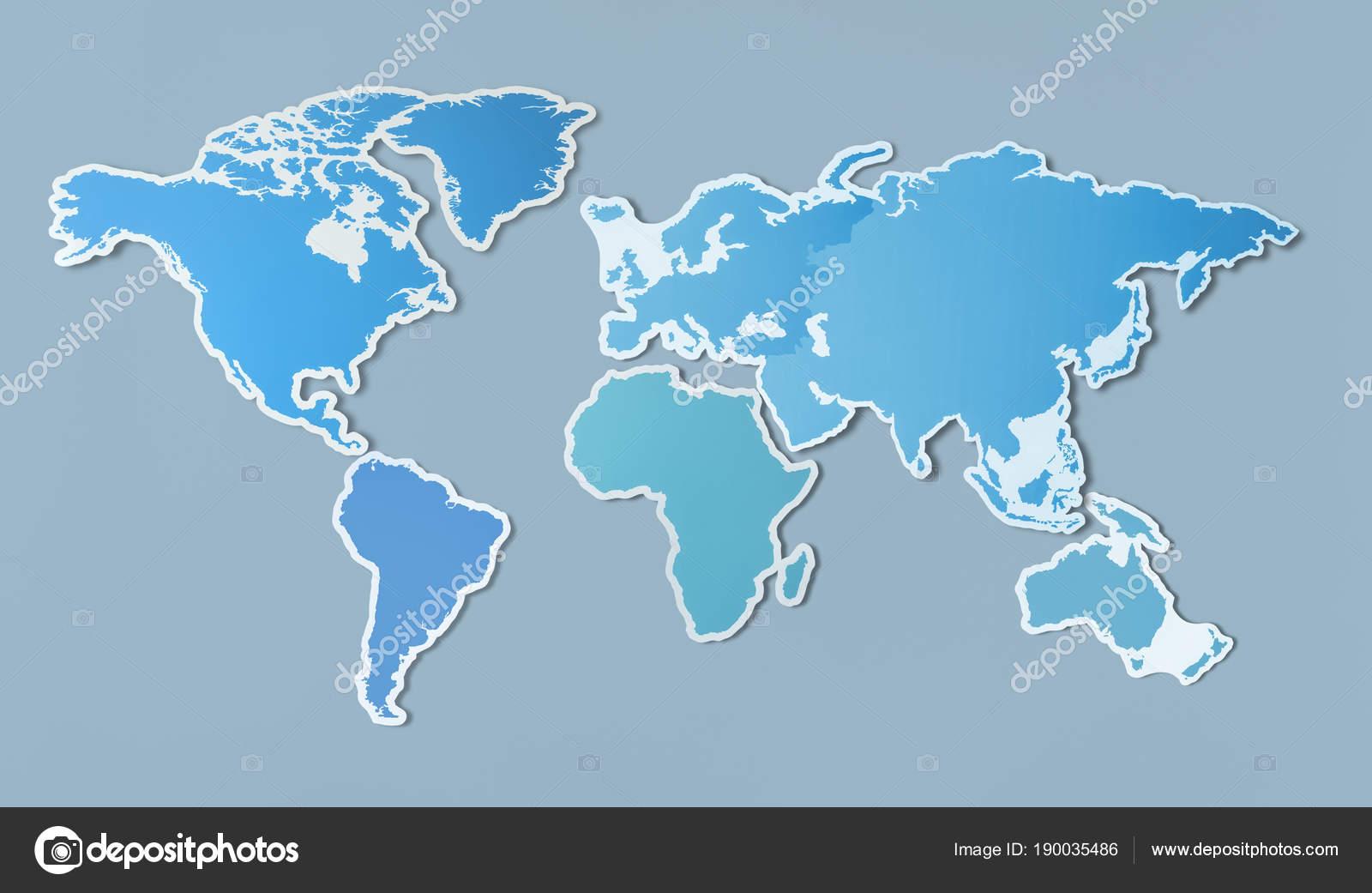 Free Blank Map Asia — Stock Photo © Rawpixel #190035486