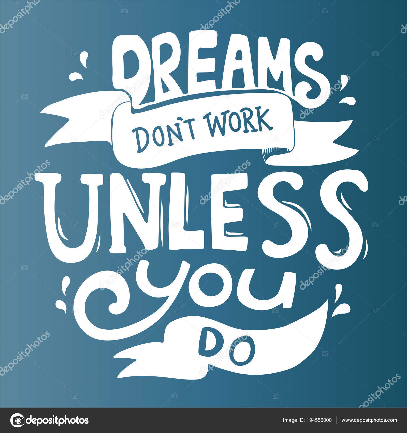 Dreams Don Work Unless You Quote Stock Photo C Rawpixel 194556000