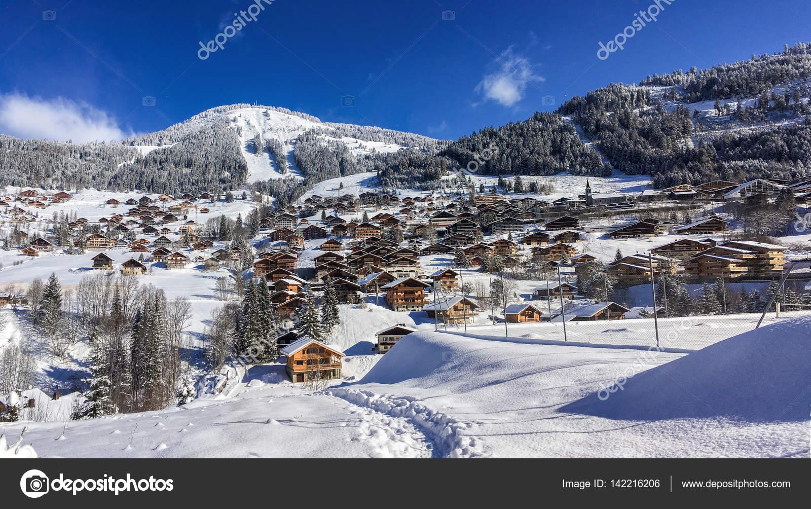 ski resort, french alps, hiking — stock photo © yauhen04 #142216206