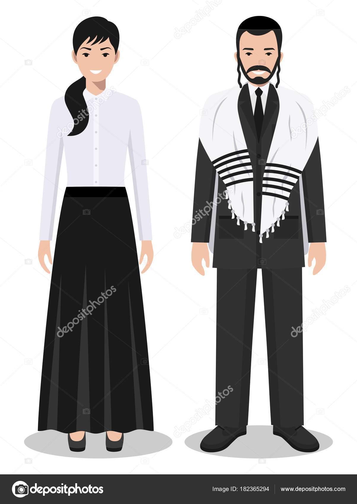 Mujer De Judío En La Juntos Conjunto Vestimenta Pie Y Hombre 8OvnwNm0