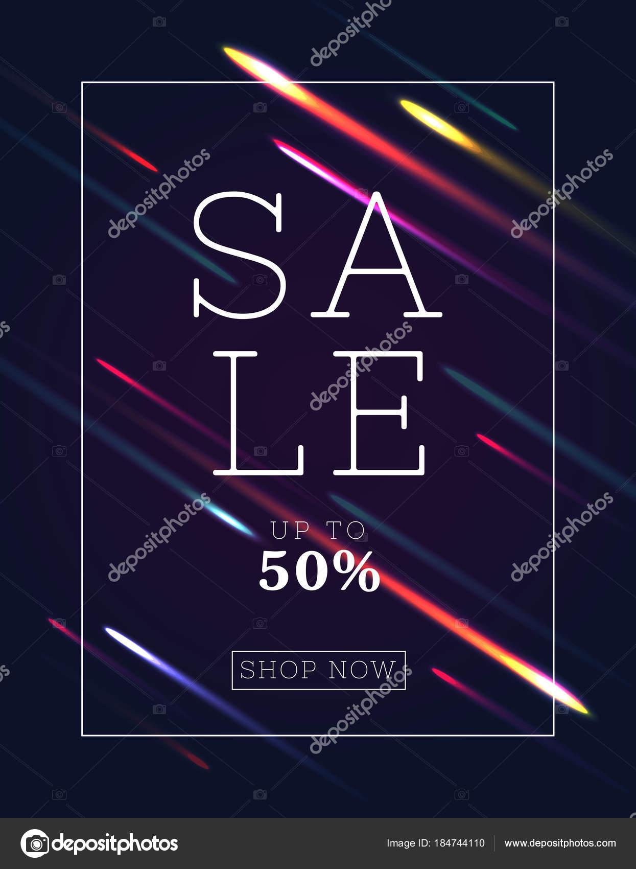 digitale Kunst-Verkauf-Vorlage — Stockvektor © marinaionova #184744110