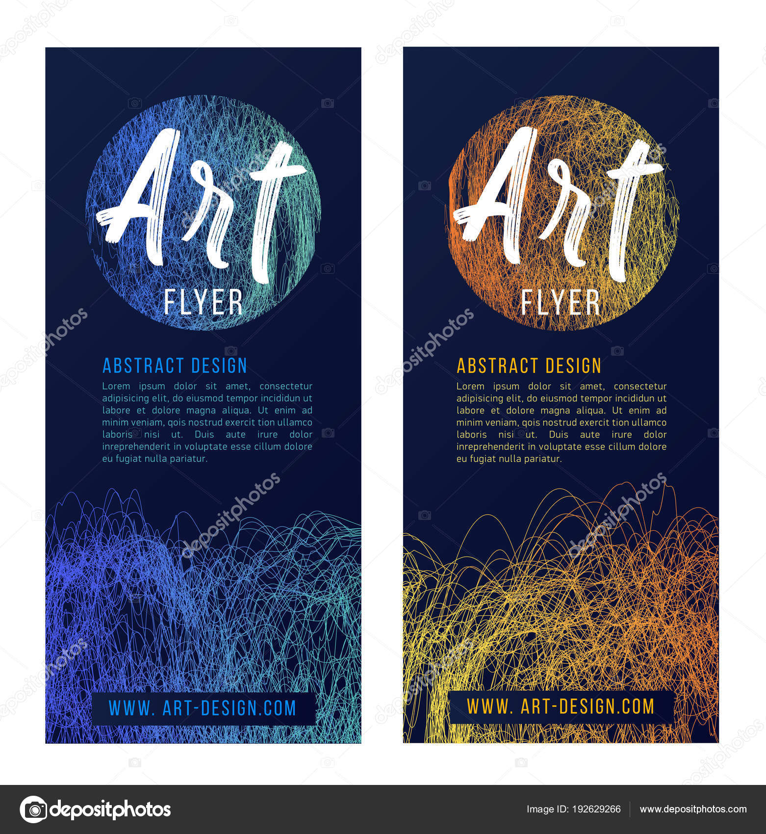 Templates for art exhibition invitation template layout 5