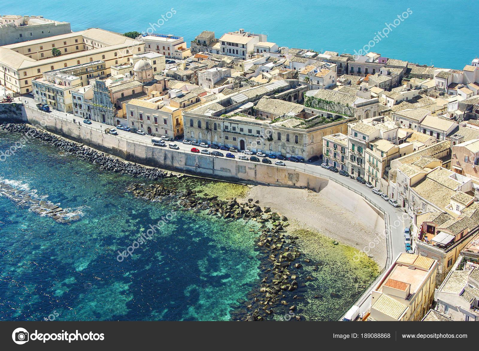 Ortigia, Syrakus Sizilien — Stockfoto © micheleponzio ...
