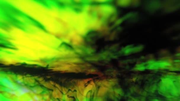 Zelené barvy ve vodě, 4k