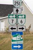 Fotografie Ann von Green Gables Scenic Drive Zeichen, Pei