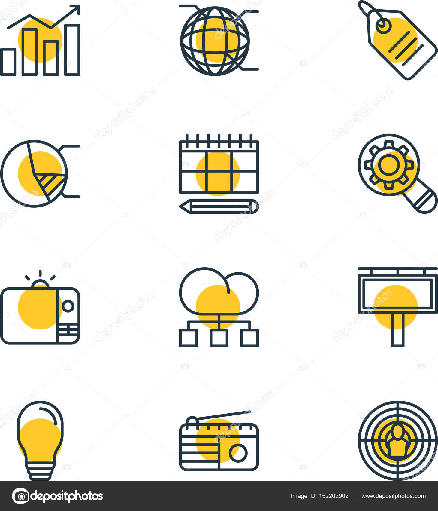 Vector illustration of 12 social icons editable pack of schedule vector illustration of 12 social icons editable pack of schedule circle diagram network ccuart Image collections