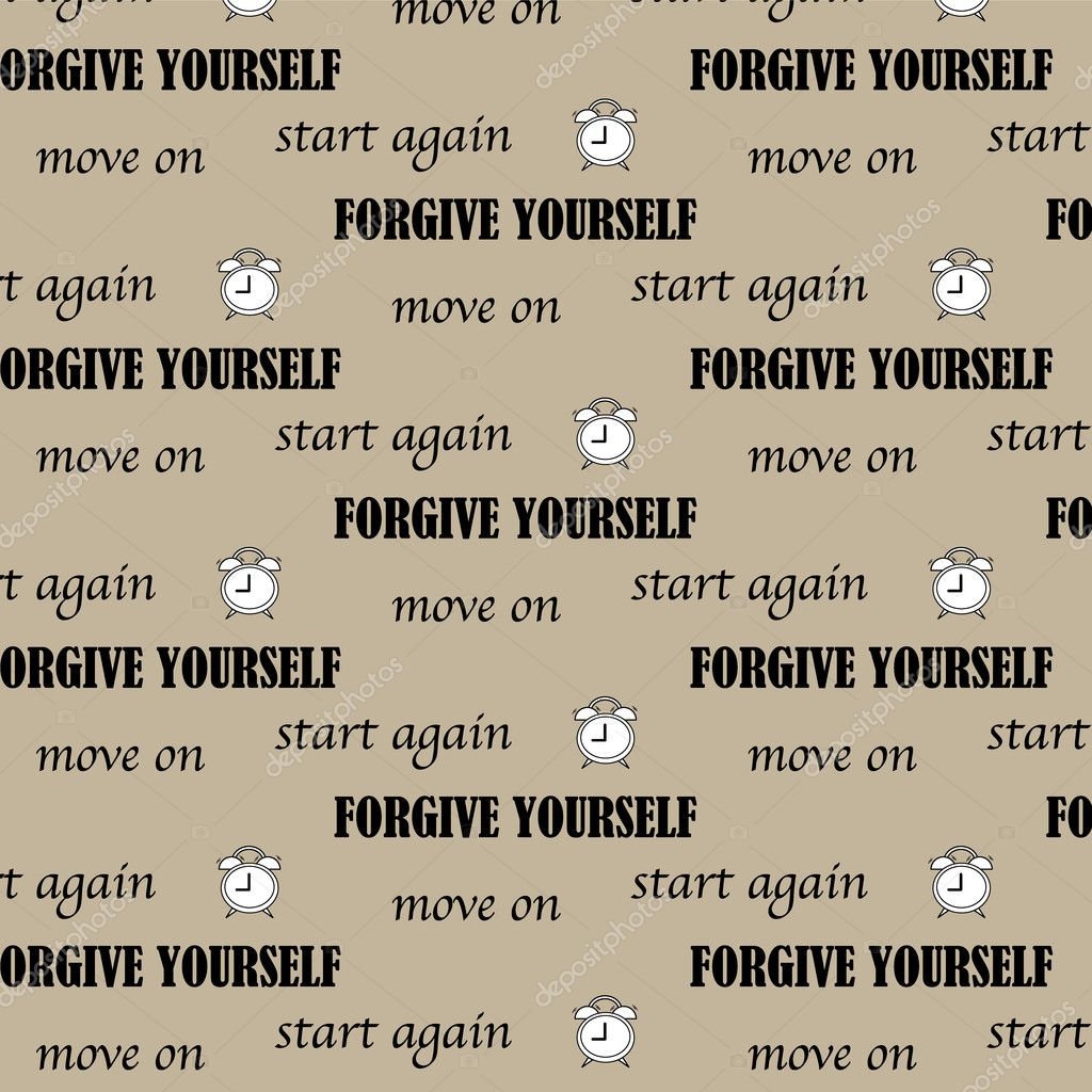 Moving On Quote Start Again Forgive Yourself And Move On Quote Text Pattern Ba