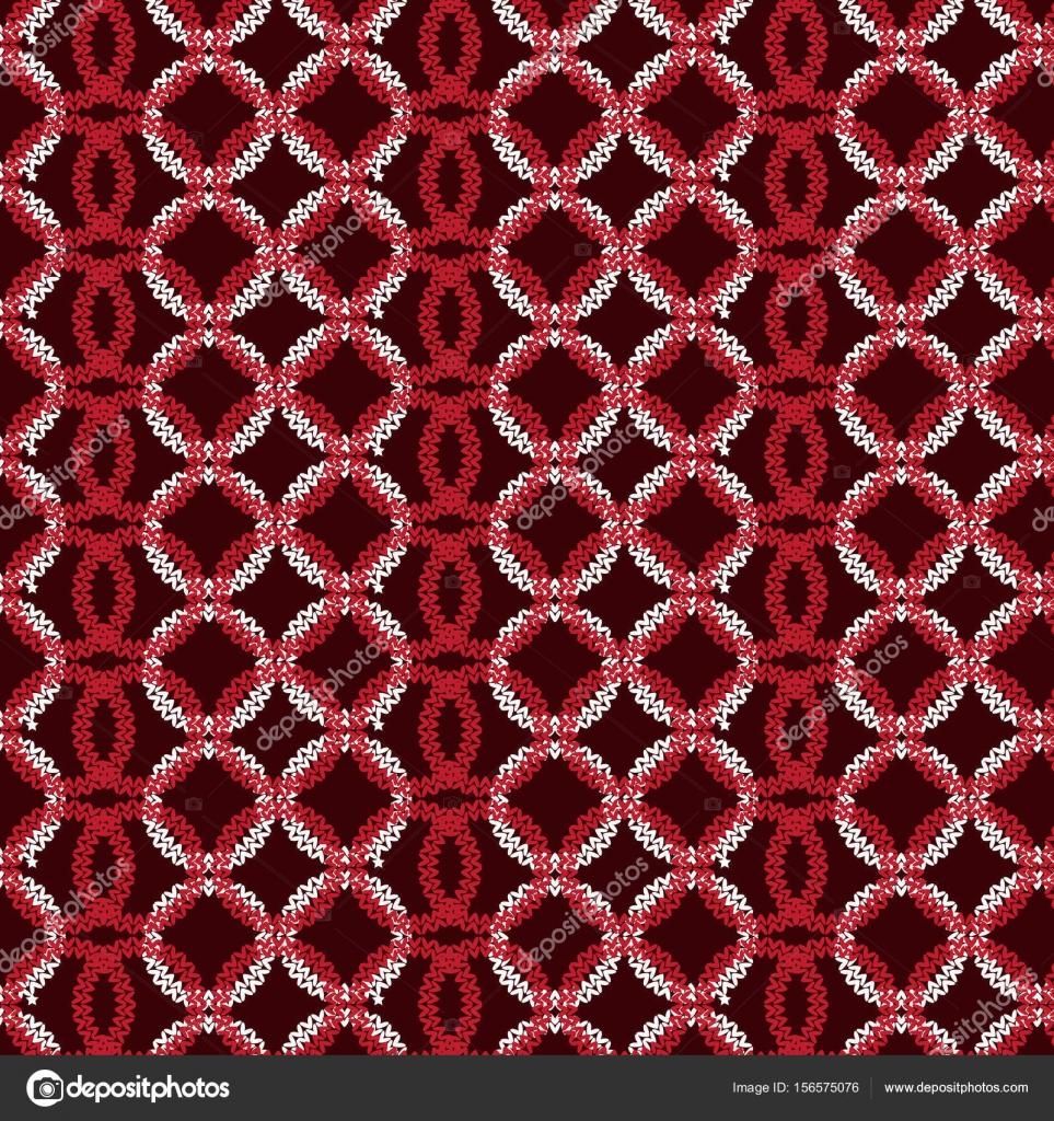 círculo vertical rojo y blanco superpuesto tejer patrón backgr ...