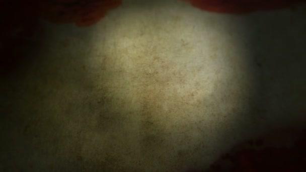 Starý pergamen rozkládání a namáčení s krví. Alfa chanel přidán