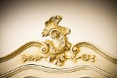 Photo Detail of an antique italian furniture just restored