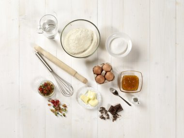 Raw materials for sweets