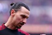 Milano, Olaszország. 2020. január 19. Olasz Serie A. Ac Milan kontra Udinese Calcio. Zlatan Ibrahimovic Milánóból.