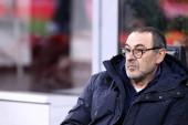 Milano, Olaszország. 2020. február 13. Coppa Italia vagyok. Ac Milan és Juventus Fc. Maurizio Sarri, a Juventus FC főedzője .