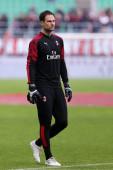 Milano, Olaszország. 2020. január 19. Olasz Serie A. Ac Milan kontra Udinese Calcio. Asmir Begovic Milánóból..
