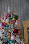 Vánoční strom dekorace zblízka