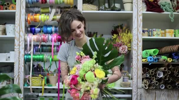női virágüzlet, hogy csokor a boltba. virág üzlet