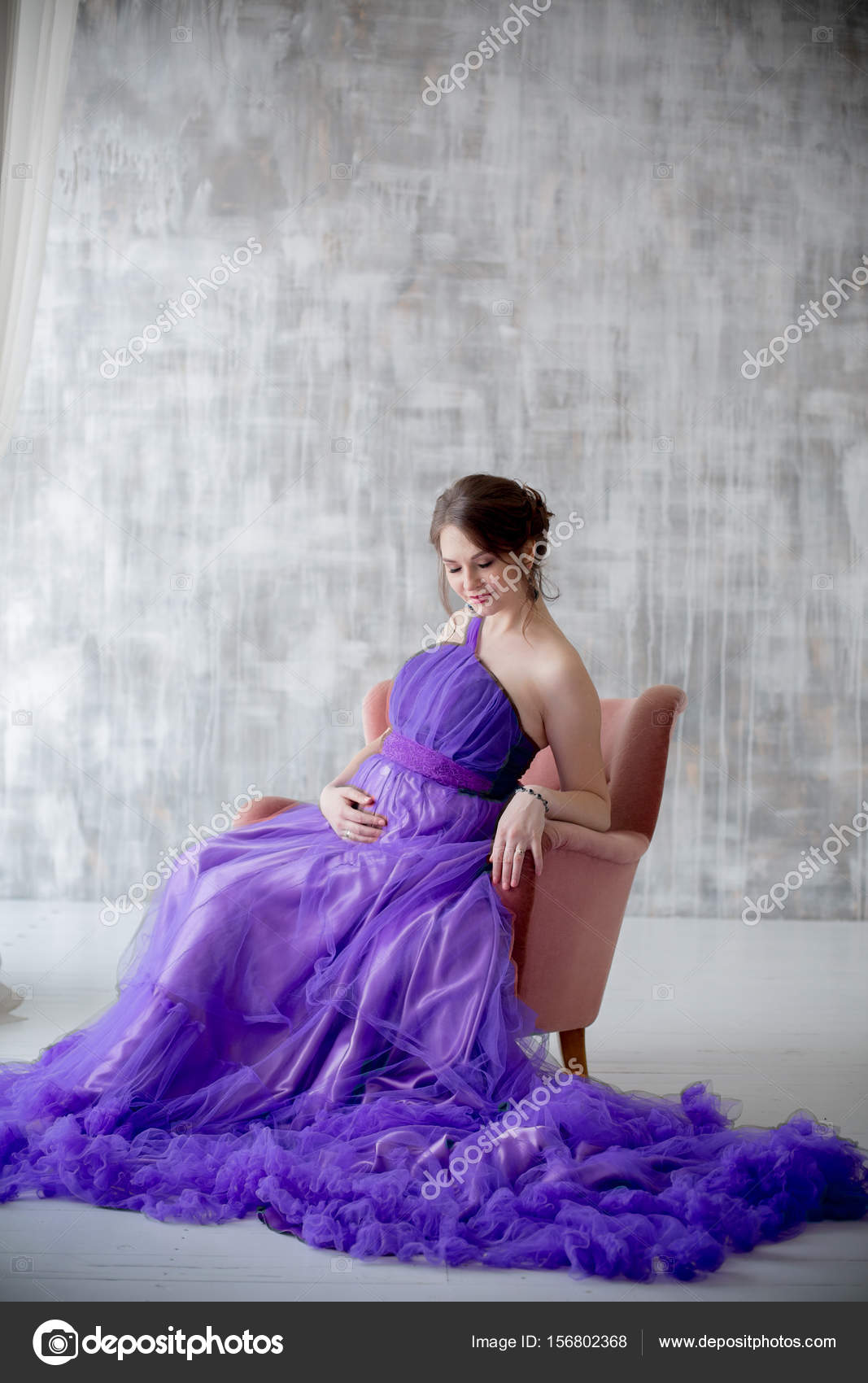Encantador Vestido De Novia Para La Mujer Embarazada Ideas Ornamento ...
