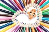 Gyurma-fej és a ceruza