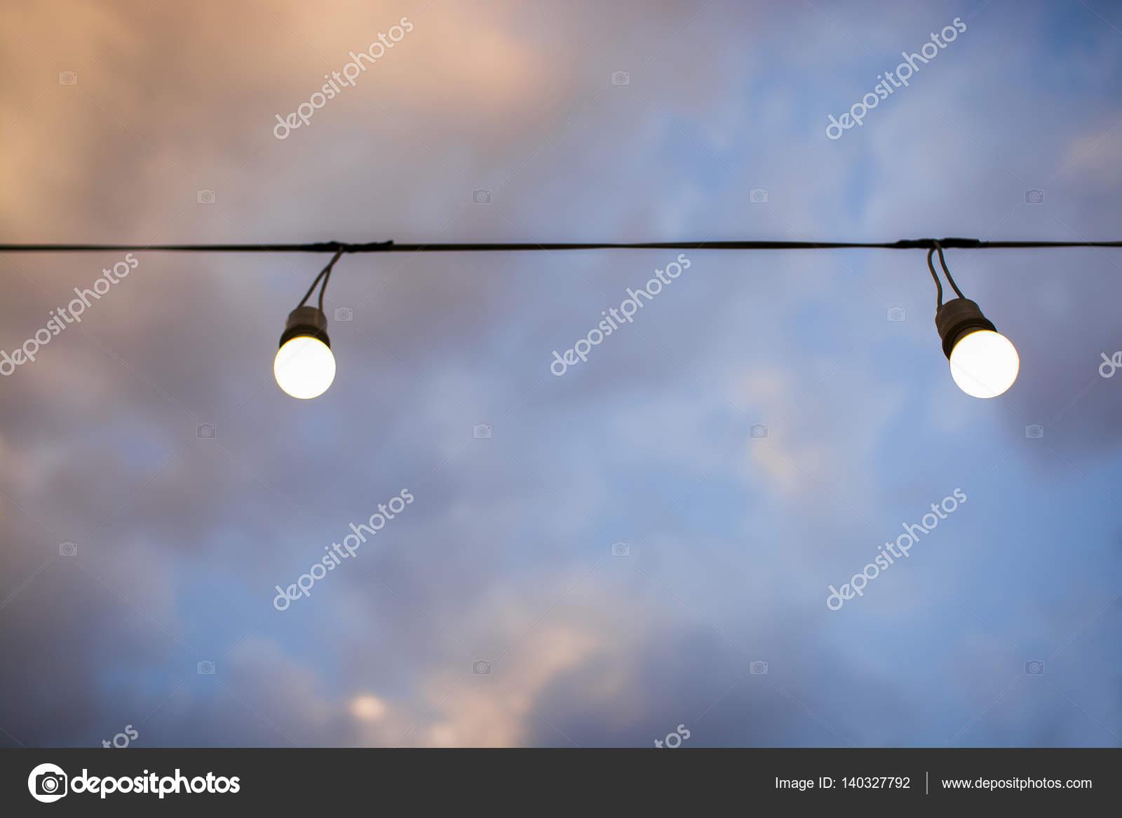 Lampade elettriche di illuminazione con lampade a luce elettrica con