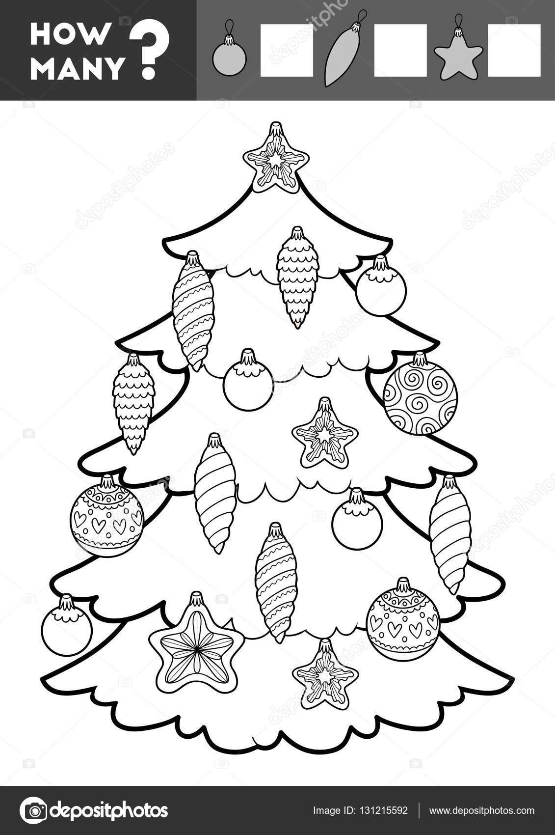 Cuenta De Juego Para Los Ninos Arbol De Navidad Y Juguetes