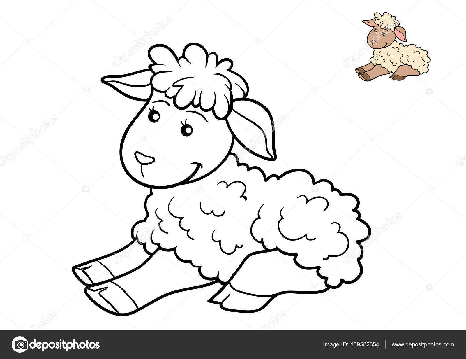 Impressionnant Photo De Mouton Pour Coloriage