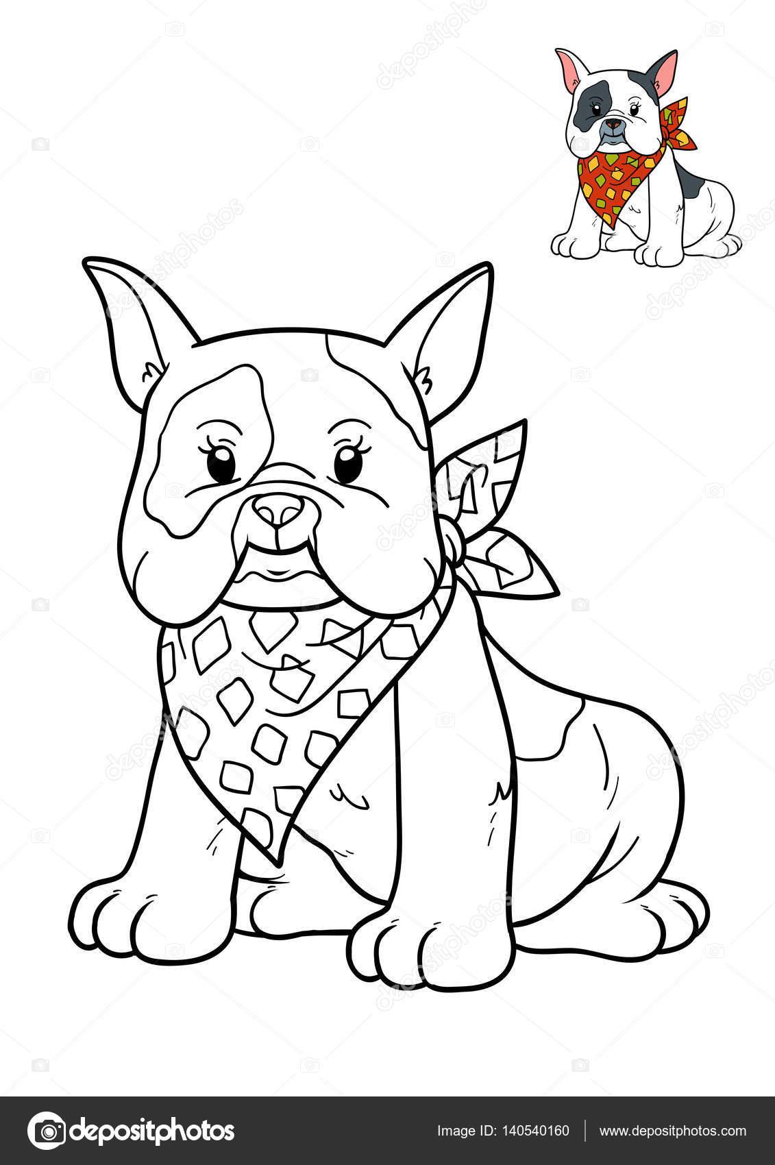 Libro para colorear, perro — Fotos de Stock © ksenya_savva #140540160