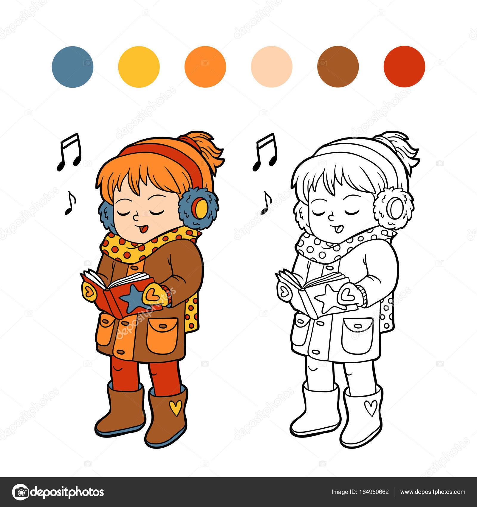 Dorable Chica Peregrina Para Colorear Fotos - Ideas Para Colorear ...