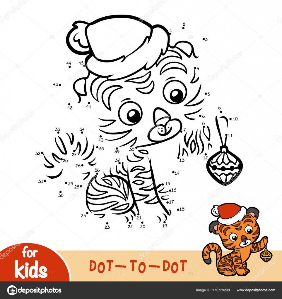 Juego De Numeros Educacion Para Ninos Navidad Tiger Archivo