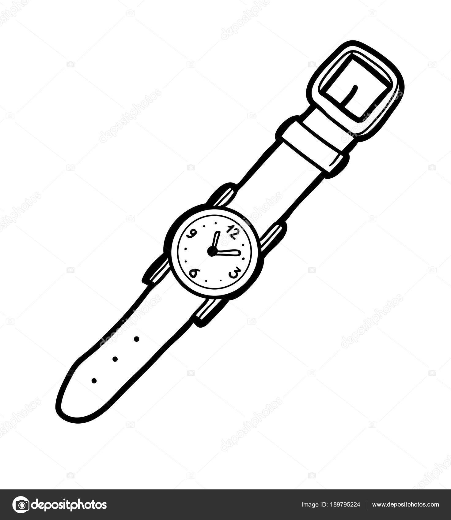 Imágenes Gotero Para Colorear Libro De Colorear Reloj De Pulsera
