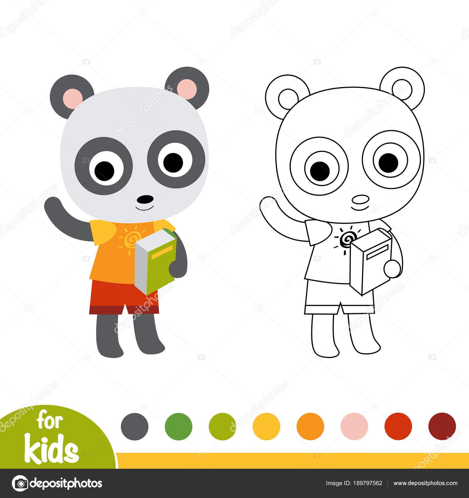 En Iyi Okul Oncesi Panda Boyama Hedef Ust Ev Boyama Sayfasi