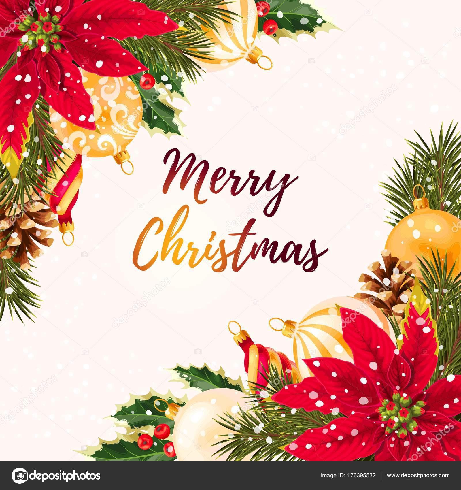 Frohe Weihnachten Grüße.Frohe Weihnachten Gruß Postkarte Stockvektor Greylilac 176395532