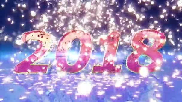 Új év 2018 animáció